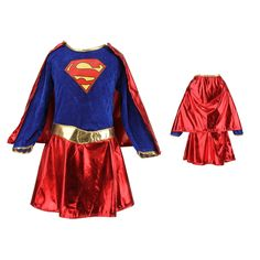 $14.24 (Buy here: https://alitems.com/g/1e8d114494ebda23ff8b16525dc3e8/?i=5&ulp=https%3A%2F%2Fwww.aliexpress.com%2Fitem%2FKids-Child-Girls-Costume-Fancy-Dress-Superhero-Supergirl-Comic-Book-Party-Outfit%2F32653681754.html ) Kids Child Girls Costume Cosplay Fancy Dress Superhero Supergirl Comic Book Party Outfit for just $14.24