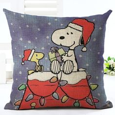 Cheap chair square, Buy Quality cushions designer directly from China cushion massage Suppliers: 2016 New Cartoon style Cotton Linen Cushion Cover interest Christmas Print Fundas Soft Pillow Chair Cushion Square Cojines