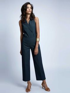 Parisian Style, Work Wear, Charcoal, Capri Pants, Jumpsuit, India, Shopping, Clothes, Dresses