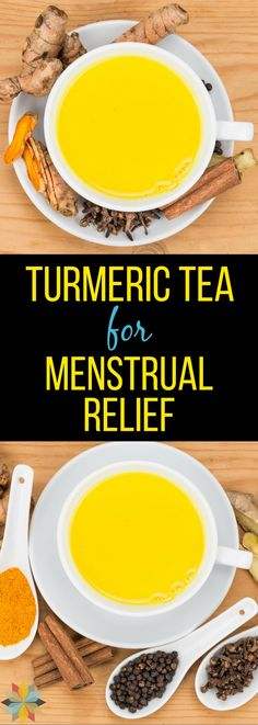 Is Your Period the Pits? Get help with this Amazing Natural Remedy - Turmeric Tea. It's nature's great natural heavy period treatment! via @wholenewmom