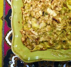 Leek, artichoke and matzah kugel!   Always looking for a good Passover recipe!  Love artichokes!!!!