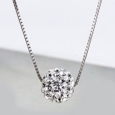 Fashion Lucky Beads Sterling Silver Women