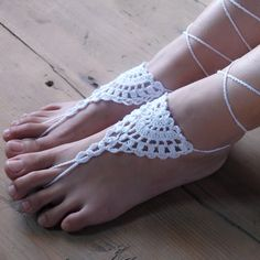 Crochet sandali a piedi nudi belize spirito scarpe, piede gioielli hippie,  Pizzo vittoriano, sexy cavigliera, steampunk, boho accessorie(China (Mainland))