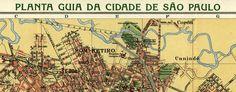 Alexandre Cococi's #map of São Paulo (1913) #Brazil #Brasil #SaoPaulo