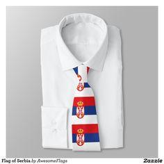 Flag of Serbia Tie