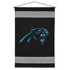 Carolina Panthers Home Decor Wall Hanging Banner