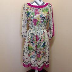 • Eci • Eci dress. Fully lined. All 100 poly. ECI Dresses Midi