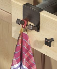 Love this Marcel Over-the-Cabinet Twin Towel Hook on #zulily! #zulilyfinds