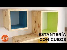 IDEA DIY: Crea una estantería con cubos con BLACK+DECKER™ - YouTube