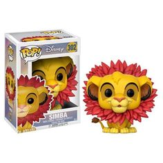 (affiliate link) The Lion King Simba Leaf Mane Pop! Vinyl Figure