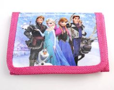 New 1pcs Frozen Elsa Children's Cartoon Purses Wallets bags Birthday Gifts QY.13