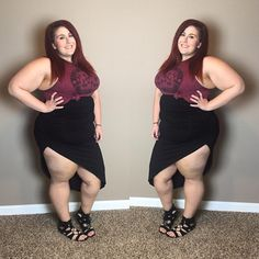 Plus size blogger Curves, Curls and Clothes