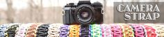 Camera With Strap, Canon Strap, Padded Camera Strap artisan handmade dslr female straps.