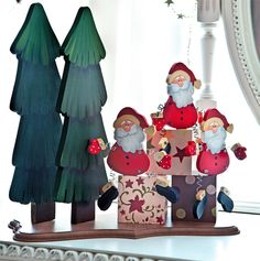 Papai Noel em MDF / DIY, craft