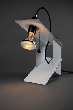Table Lamp by Andreas Mass, via Behance