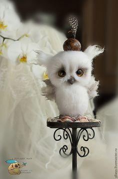 Magical Forest Owl by Julia Yuyu Jurkiewicz from Russia