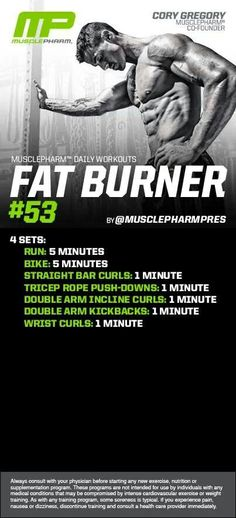 MusclePharm Fat Burner#53