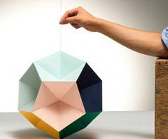 origami-lampenschirm-farbpapier-falten-pastelltöne-farbgestaltung