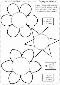 Flower Template, Symbols, Letters, Templates, Flowers, Mantle, Appliques, Stencils, Letter