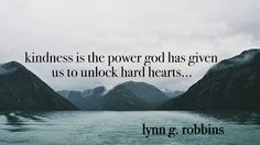 "Remember, ""Kindness is the power that God has given us to unlock hard hearts."" From #ElderRobbins' inspiring #LDSconf http://facebook.com/223271487682878 message http://lds.org/general-conference/2016/10/the-righteous-judge #ShareGoodness"