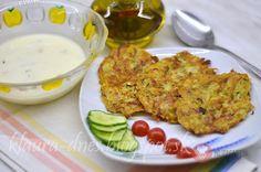 FotoRecept | Cuketové placky Eggs, Chicken, Meat, Breakfast, Food, Morning Coffee, Eten, Egg, Meals