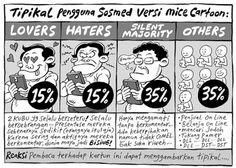 Mice Cartoon, Kompas - 29 Mei 2016: Tipikal Pengguna Sosmed