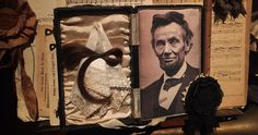 A LOCK OF LINCOLN'S HAIR TAKEN AT HIS DEATHBED . BY ANDREW DELANEY