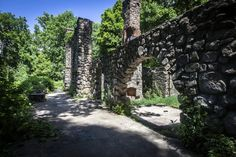 1. Cornish Estate - Beacon....one of 8 trails in NY that lead to cool ruins