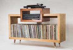 Record Player Table, Vinyl Record Player, Vinyl Record Storage, Lp Storage, Vinyl Records, Vinyl Record Cabinet, Vinyl Record Display, Record Shelf, Vintage Record Player Cabinet