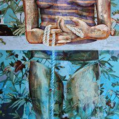 Paintings by Jessica Watts | http://ineedaguide.blogspot.com/2015/04/jessica-watts.html | #art #paintings #flowers