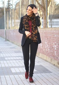 Tranquilacosita: Look 240113 # Red, Black & Leopard