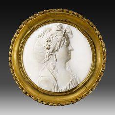 Joseph Chinard (1756-1813): portrait de femme de profil