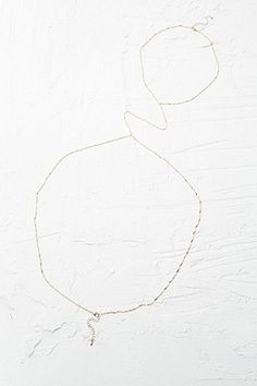 Fine Body Chain in Gold - Urban Outfitters