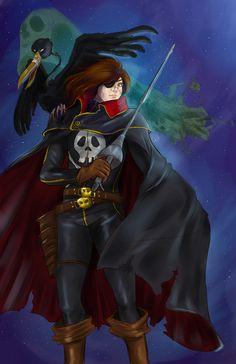 Captain Harlock!!