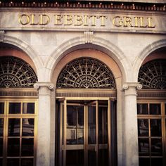 Old Ebbitt Grill - Washington DC, Across from the White House, oldest bar/restaurant in DC.  Great for steak, comfort food, etc. DC Classic!