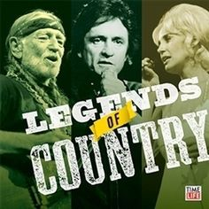 Legends of Country - Time Life's Music 10 CD Set....only the best country artists from the 60s, 70s, and 80s!