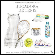 Wimbledon: equipaciones de lujo sobre la pista