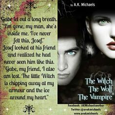 The Witch The Wolf and The Vampire by AK Michaels