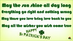💚 Happy Saint Patrick's Day, 2018! 🍀 🎩 🎐 Happy Patrick Day, Happy St Patricks Day, Everything Goes, Wish Come True