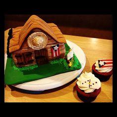Puerto Rican cake and cupcakes Puerto Rican Christmas, Puerto Rico Food, House Cake, Puerto Rican Recipes, Caribbean Recipes, Cupcake Cookies, Cupcakes, Beautiful Wedding Cakes, Wedding Cake Designs
