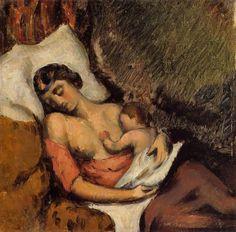 Le grenier de Jes68 (Jes68's Attic) • jes68:   Paul Cézanne (1839-1906), Hortense...