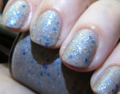 Lady of Light Nail Polish by FanchromaticNails