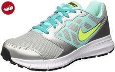 Nike Mädchen Downshifter 6 (Gs/Ps) Trainingsschuhe, Multicolore (Metallic Silver/Volt-Clear Jade-Black), 37 1/2 EU (*Partner-Link)