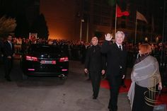 December 5, 2014 - Alan Rickman and Rima Horton at the Opening Ceremony for the Marrakech Film Festival in Marrakech, Morocco. Copyright © Retna