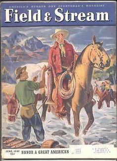 17896 US RT 11 Watertown. Hunting Magazines, Fishing Magazines, Old Magazines, Vintage Magazines, Magazine Art, Magazine Covers, Fishing Tips, Fly Fishing, Photos