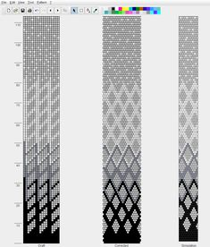 bead crochet. An interesting pattern. Great for tubular brick stitch too.