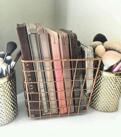 cute, eye shadow, inspo, makeup, organization