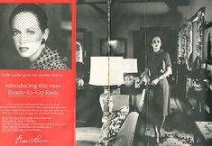 Paper Pursuits: fashion and design print collectibles -- Vintage Vogue, Harpers Bazaar, Couturier Patterns, Fashion Ads and Books 1974 Vintage Vogue, Vintage Ads, Karen Graham, Go Red, Sun Care, Vogue Covers, Ad Campaigns, Vintage Magazines, Harpers Bazaar