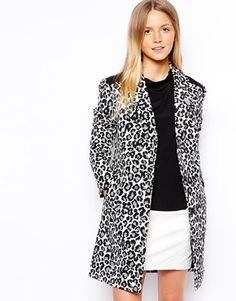 I must have this leopard print jacket!! #Leopard #fallstyle #wishlist