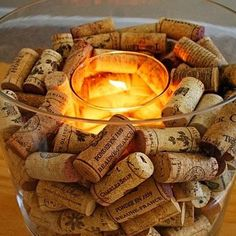 Wine lovers' centerpiece